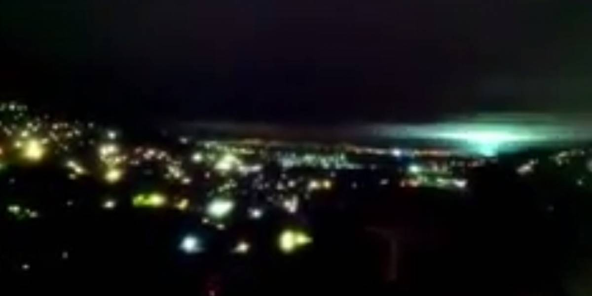 La razón por la que se vieron luces durante el terremoto en México