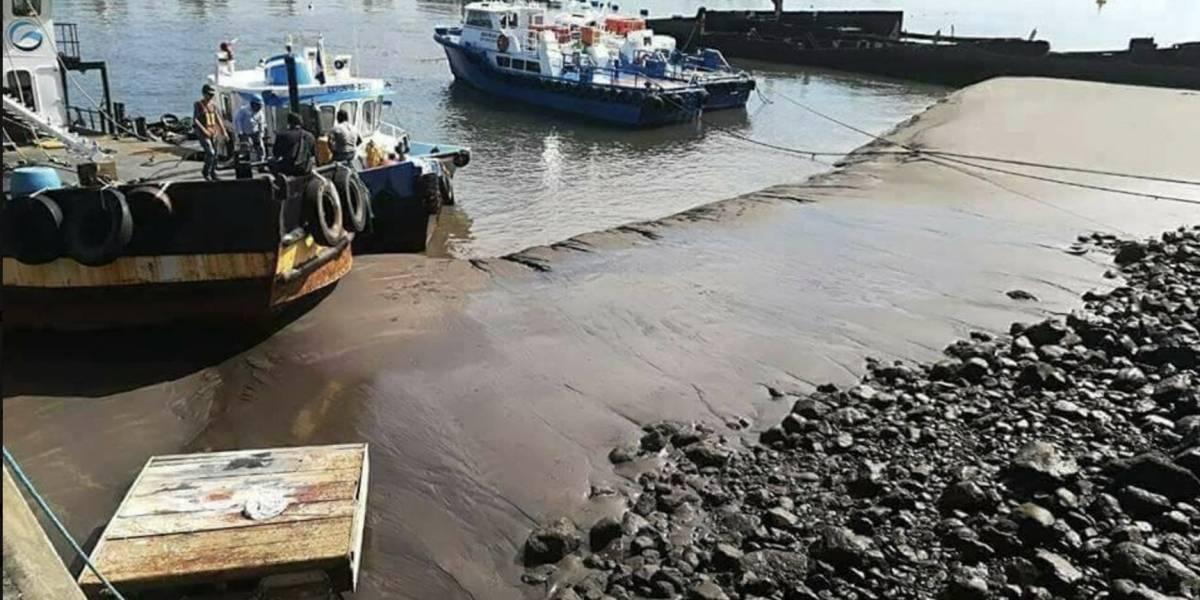 ¡La gran incógnita! Por qué se retiró el mar de varias playas