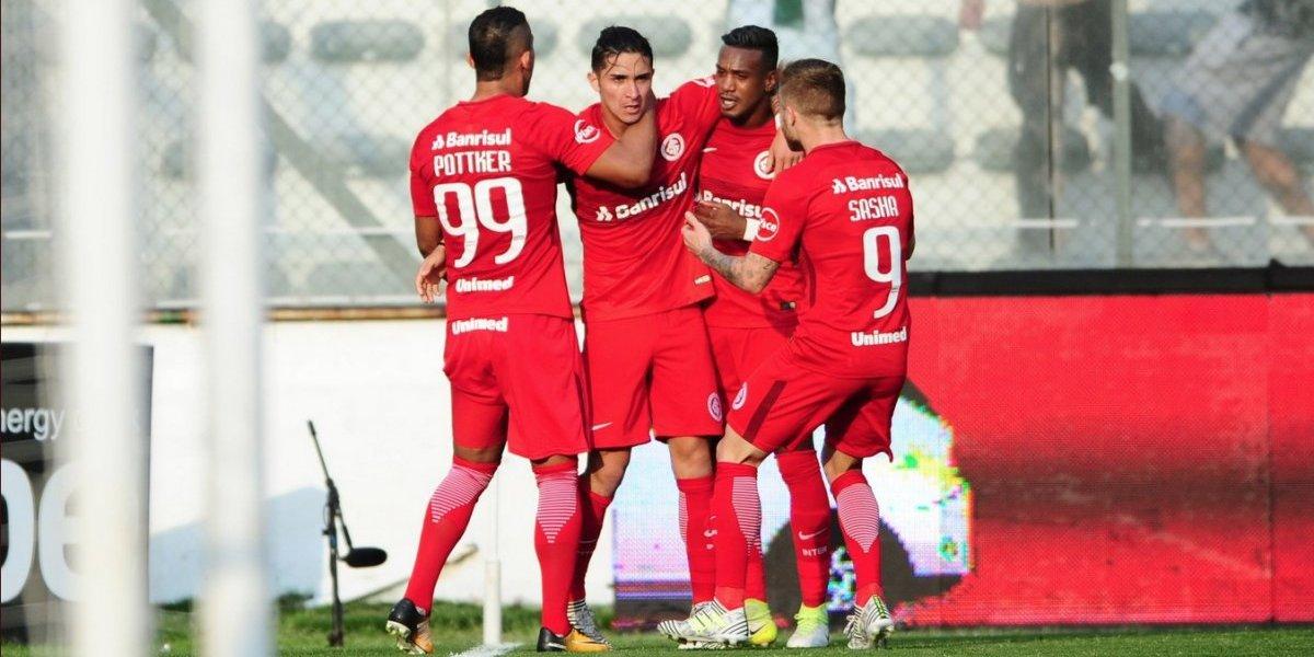 Felipe Gutiérrez se reencuentra con el gol en derrota del Inter de Porto Algre
