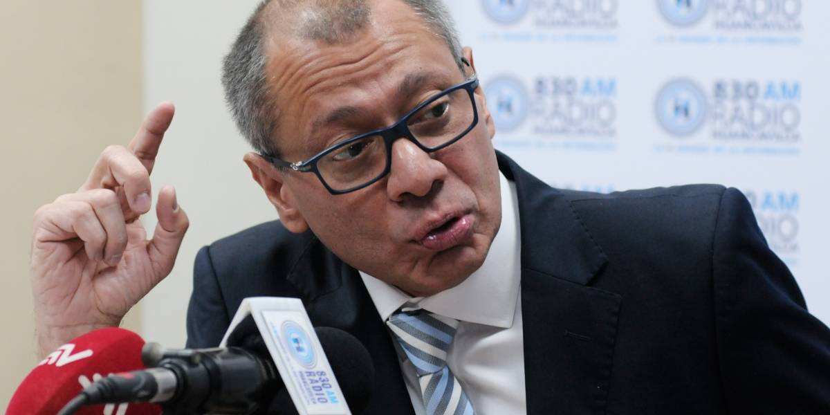 Vicepresidente Jorge Glas propone una Asamblea Constituyente
