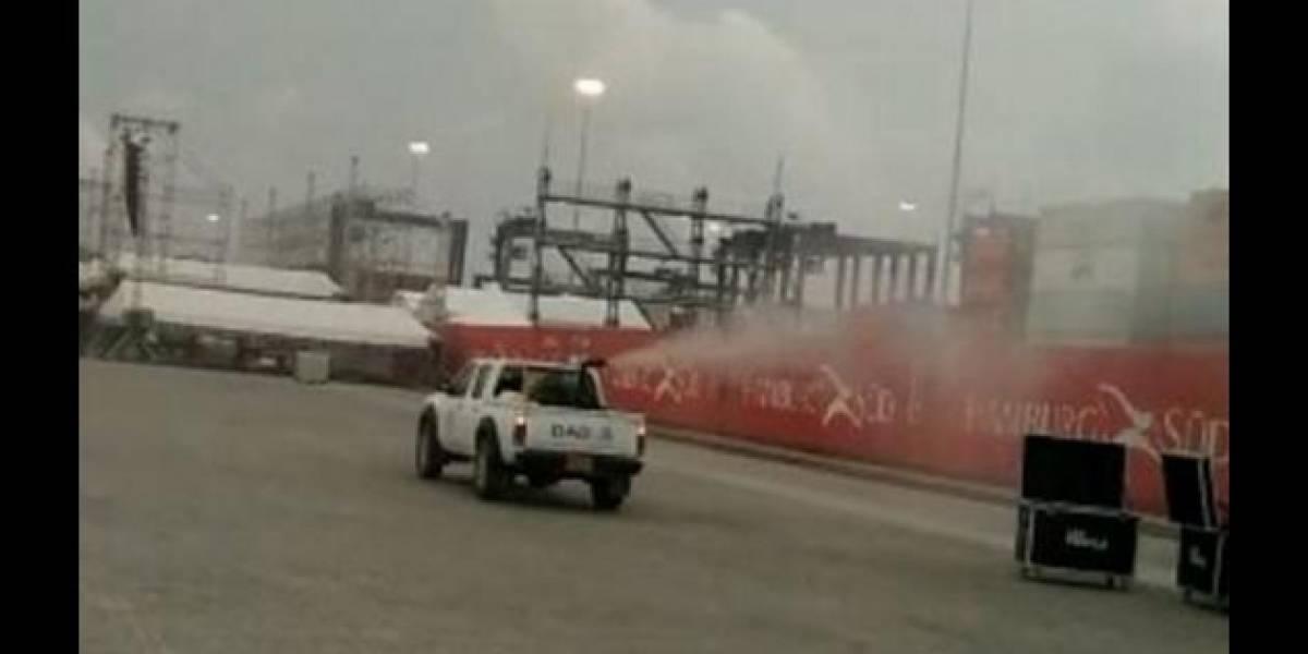Fumigan escenario donde el papa oficiará misa en Cartagena para evitar a los ratones