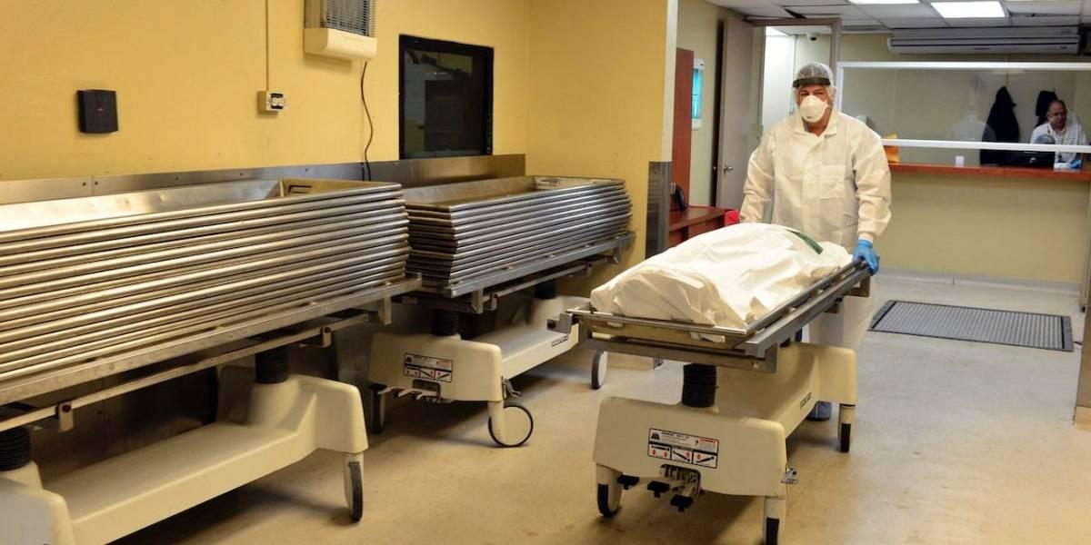 Se forma tremendo revolú durante inspección de cadáveres en Ciencias Forenses