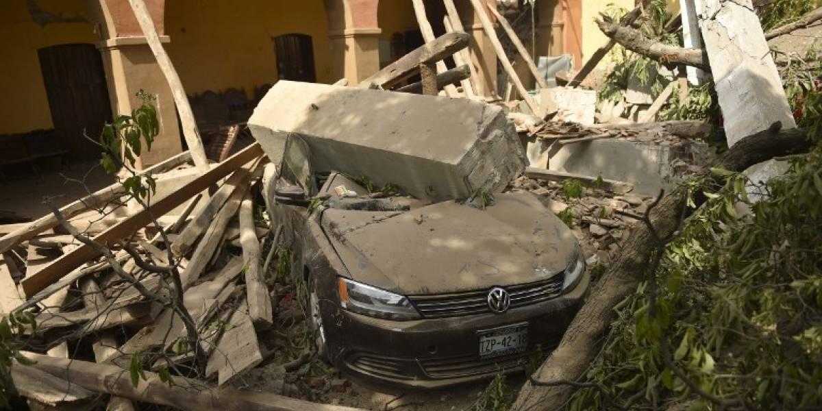 México tras el terremoto: Las imágenes que muestran la devastación del sismo 8,2