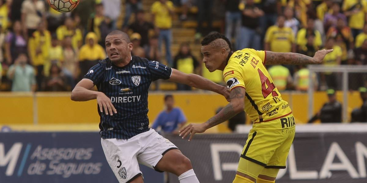Independiente del Valle igualó con Barcelona SC