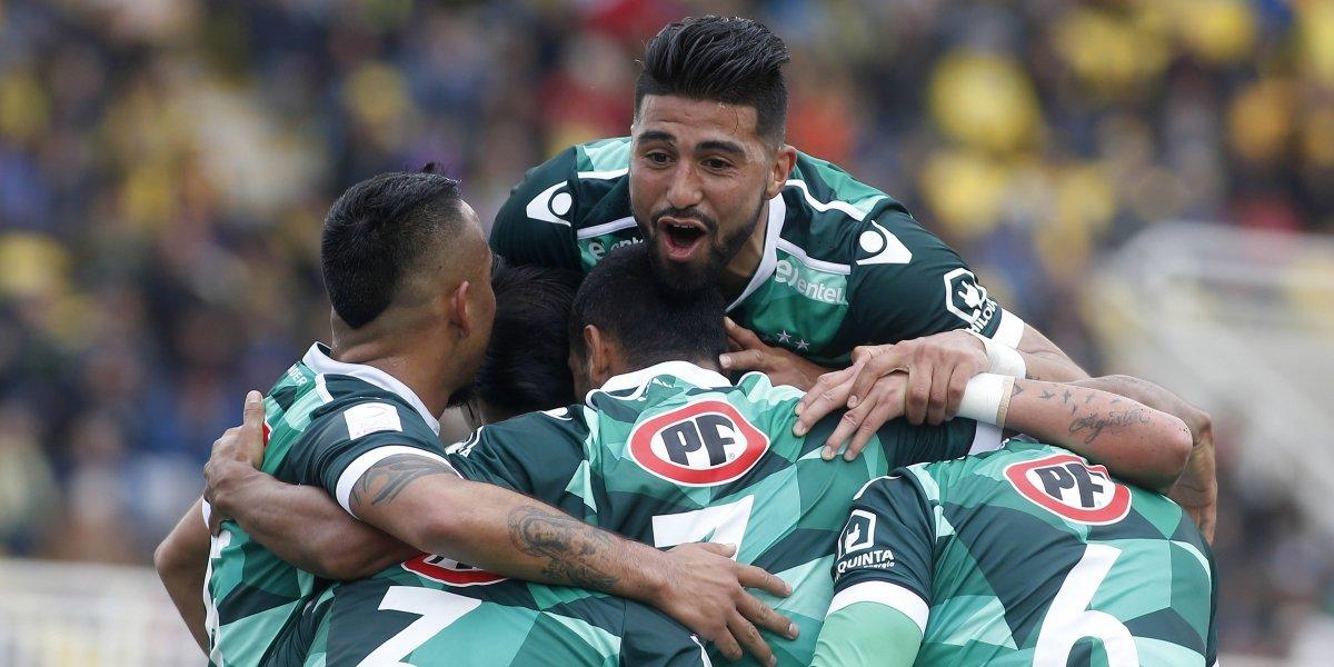 Santiago Wanderers revive en el Transición tras golpear a domicilio a San Luis