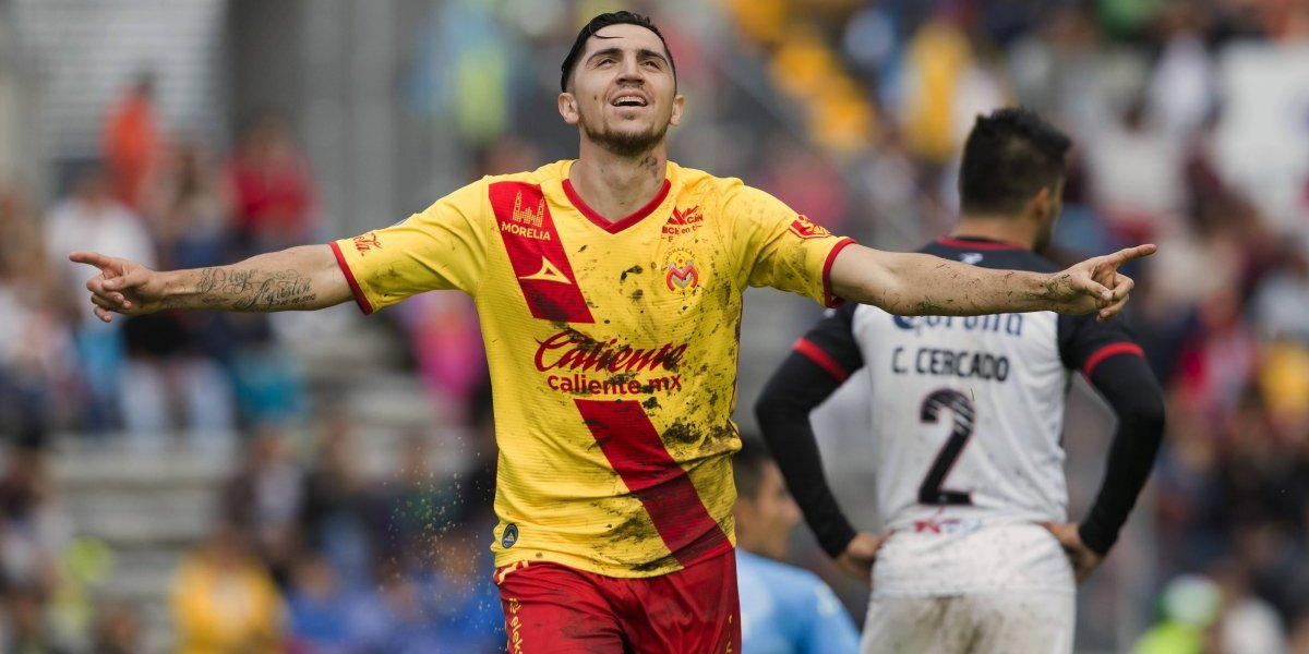 Gol de Diego Valdés guió el triunfo de un Morelia que sigue en la parte alta de México