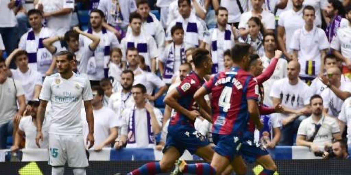 El Real Madrid tropieza en su intento por alcanzar el liderato