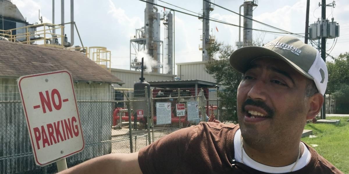 Contaminación del aire en área de Houston aumentó con Harvey
