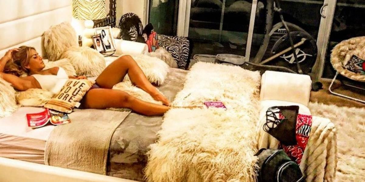 Maripily reporta desde su apartamento en Miami llegada del huracán Irma