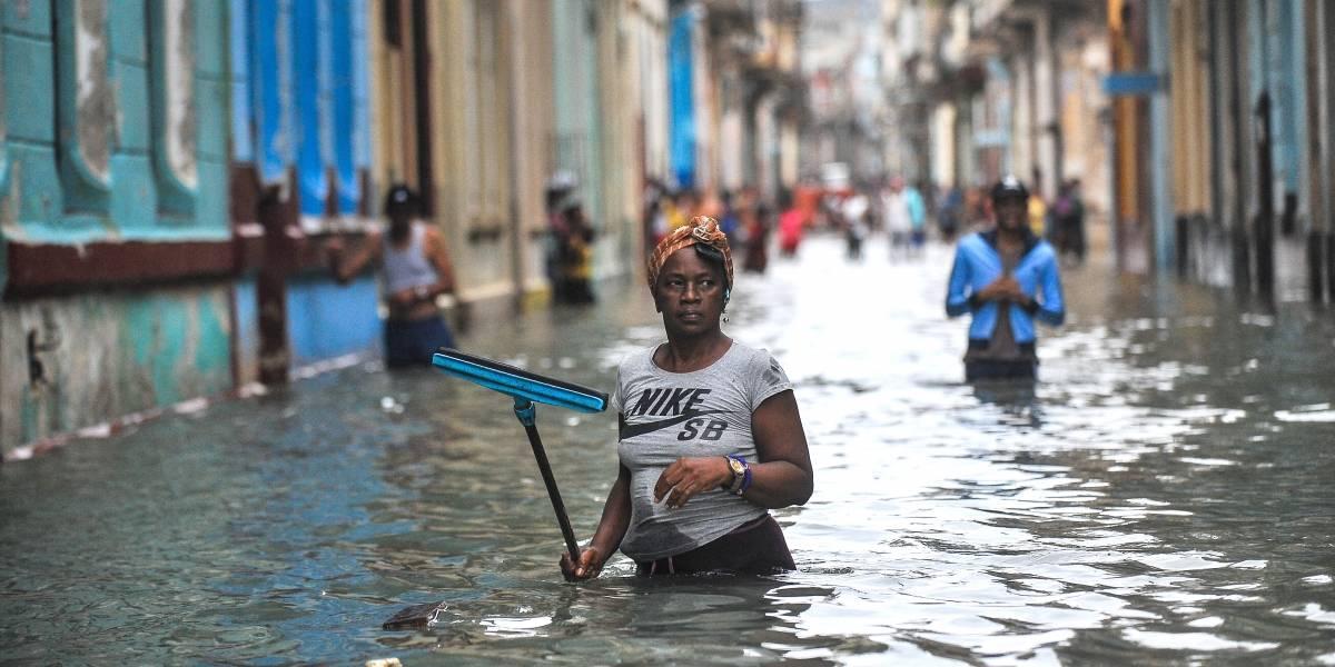 Bajo el agua:  así amaneció Cuba tras el paso del huracán Irma