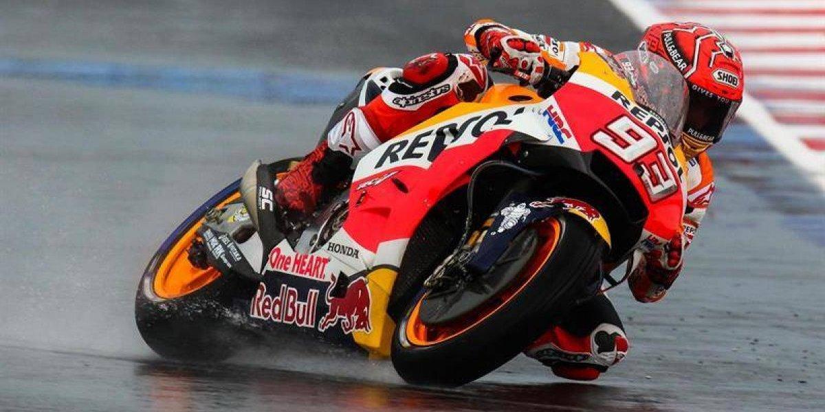 Moto GP: Marc Márquez gana en la última vuelta en San Marino