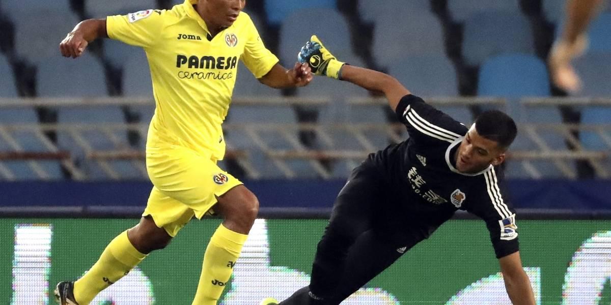 Carlos Bacca debuta en el marcador del Villarreal ante el Betis