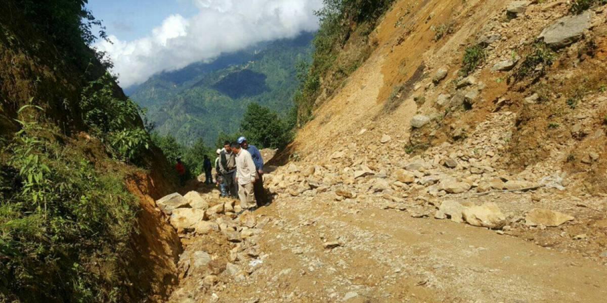 Una mujer muere sepultada por un alud en poblado indígena de Guatemala