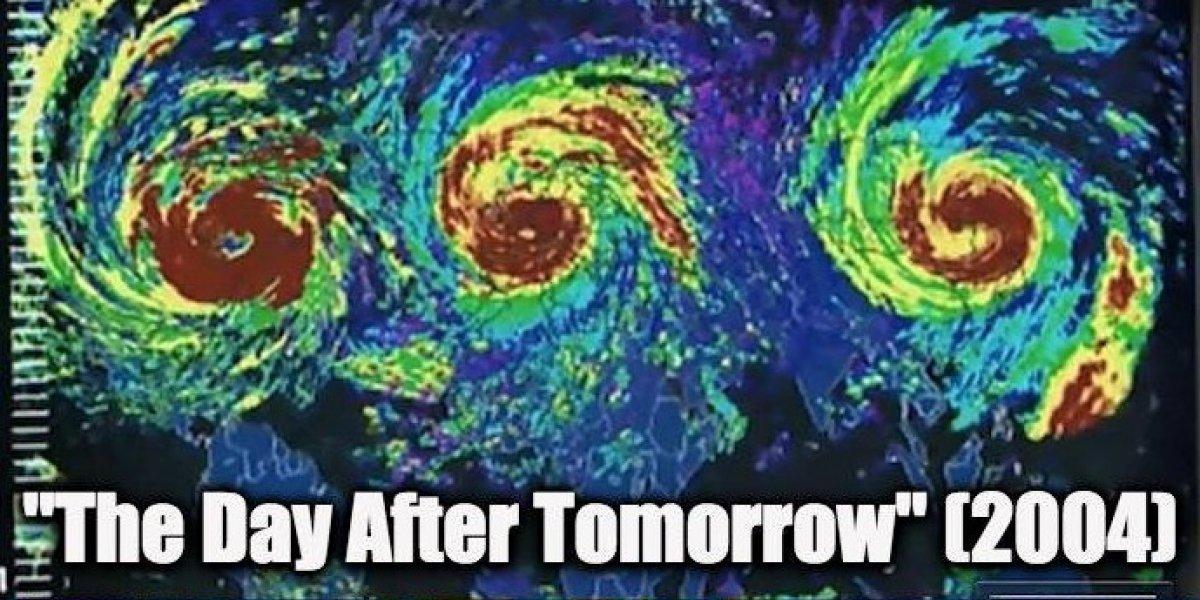 """¿Una película lo predijo?: tuiteros comparan """"El día Después de Mañana"""" con paso de huracanes Irma, José y Katia"""