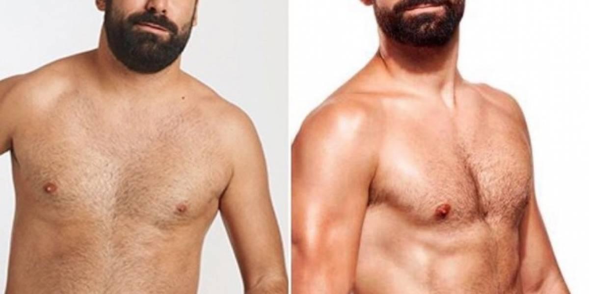 Este es el reto fitness que transformó a Jorge Cremades