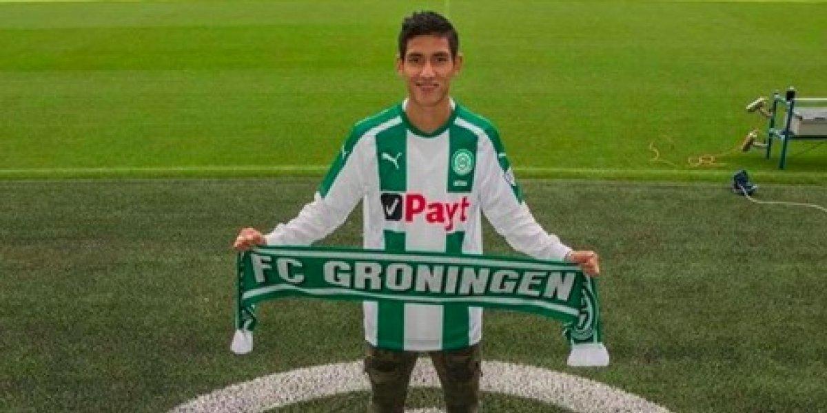 Uriel Antuna debutó con el Groningen en empate ante el VVV-Venlo