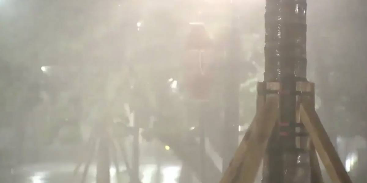 Llegan a Miami las primeras lluvias asociadas al huracán Irma