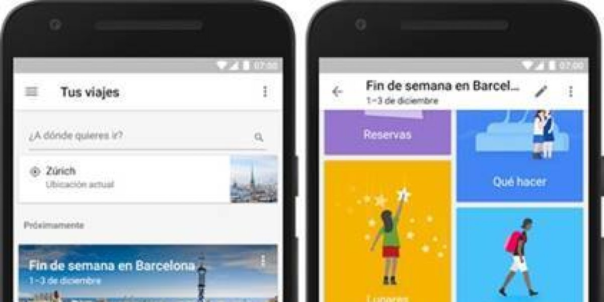 Ya está disponible Google Trips