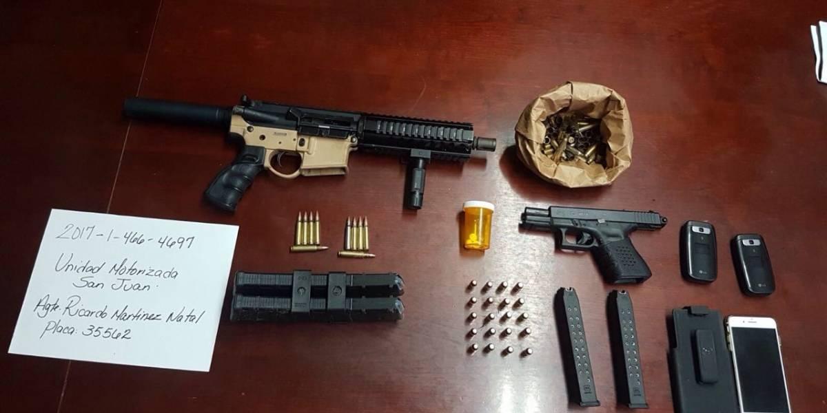 Policía ocupa armas de fuego durante allanamientos