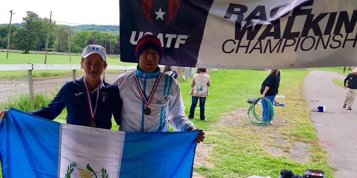 Marchista guatemalteca sorprende a América y al mundo con su récord