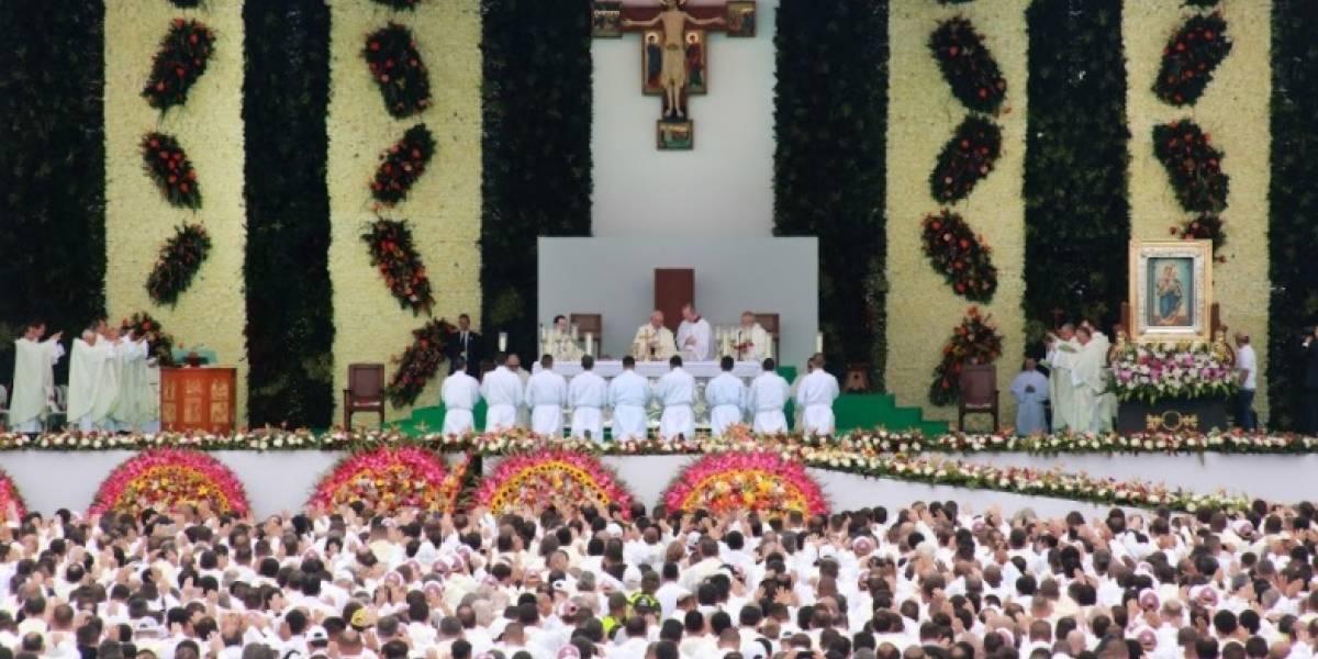 """""""Gracias por su paciencia, por su perseverancia y por su coraje"""": papa Francisco"""