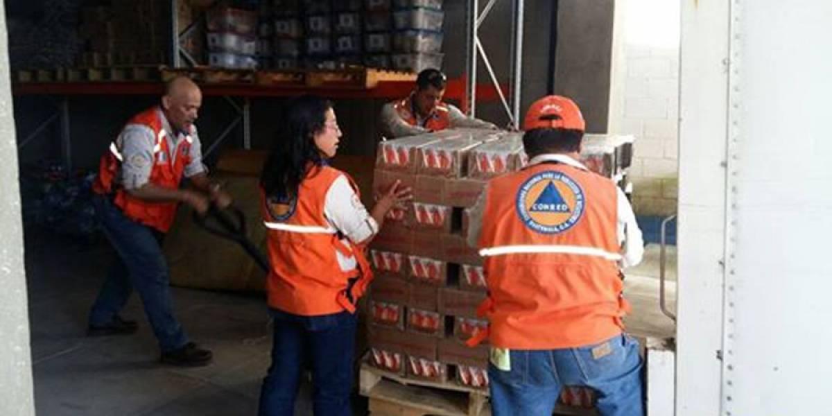 Presidente Morales indica que ayuda a damnificados por sismo sigue llegando