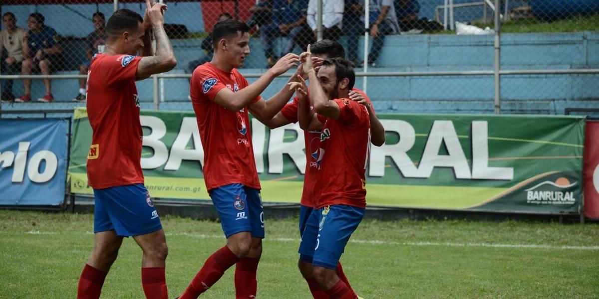 Municipal derrotaa Antigua con unagónico gol de Puerari