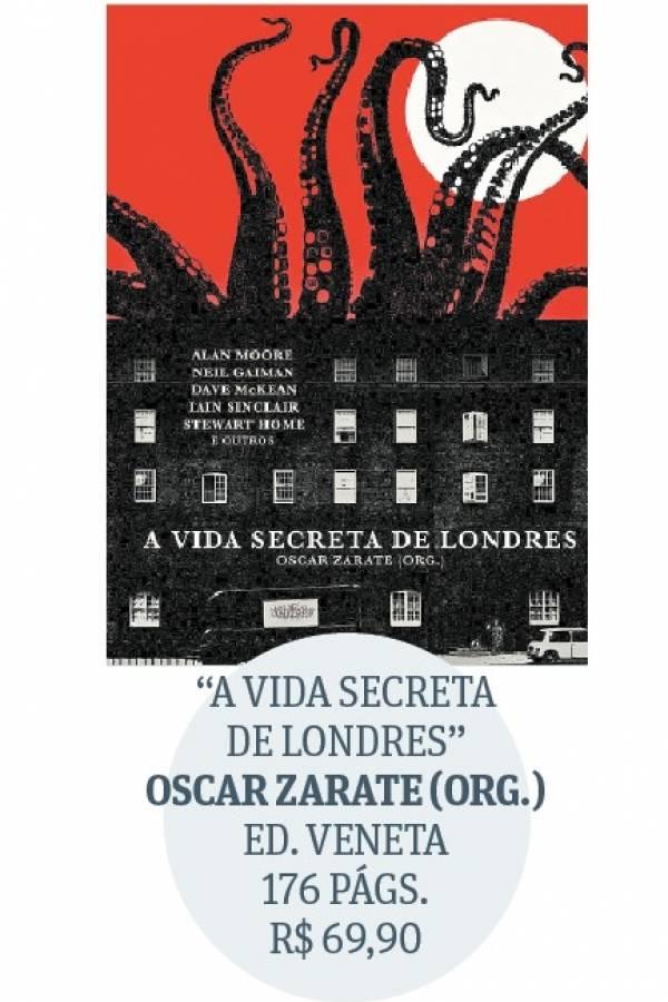A vida secreta de Londres - capa