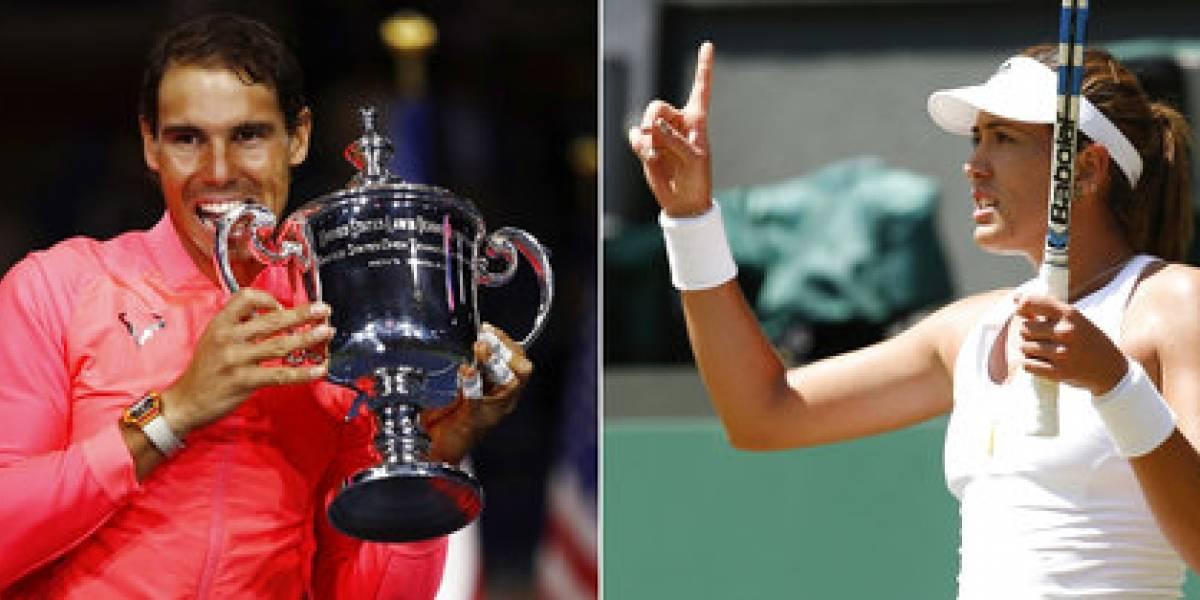 España domina rankings ambas ramas con Muguruza y Nadal