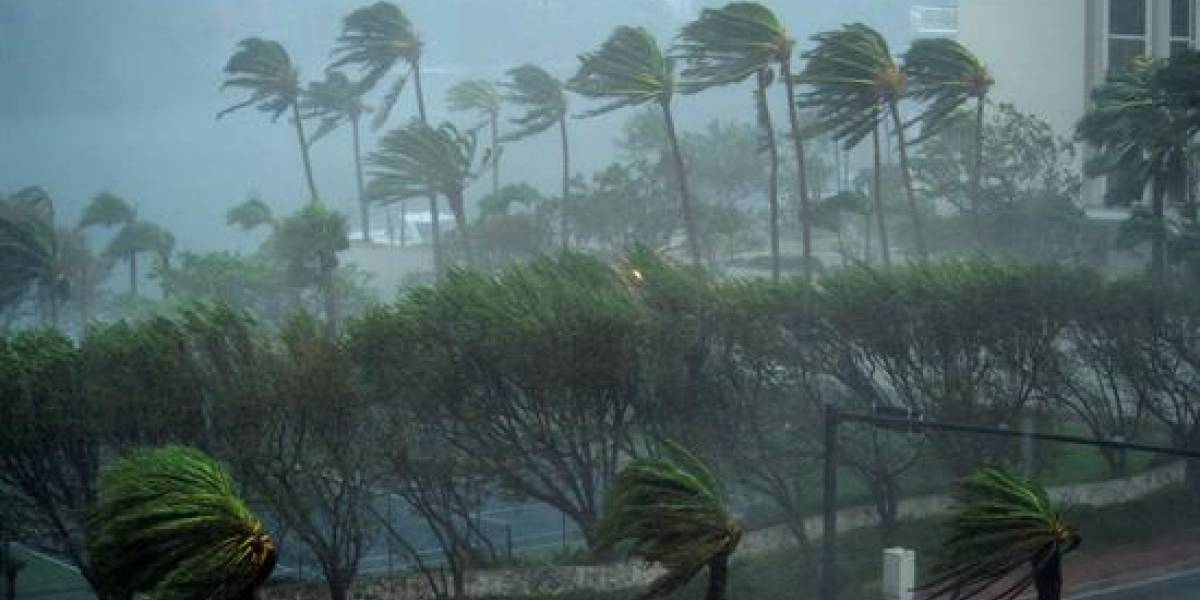 'Espeluznante rostro' dentro del huracán Irma