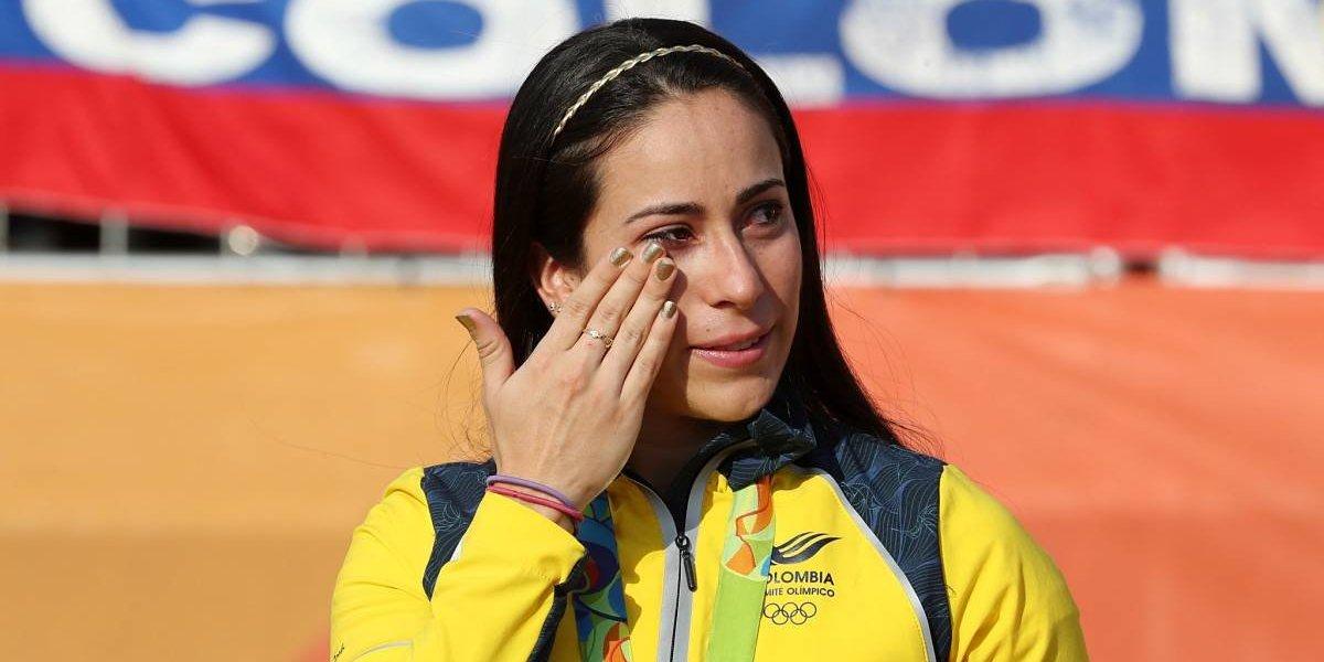 Mujer denuncia que Mariana Pajón la atropelló en su carro y no le respondió