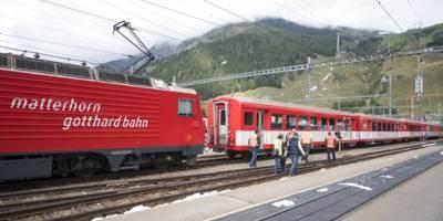 Accidente de tren en Suiza deja 30 heridos