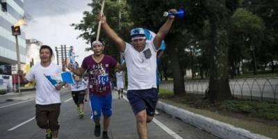 Antorchas en Guatemala