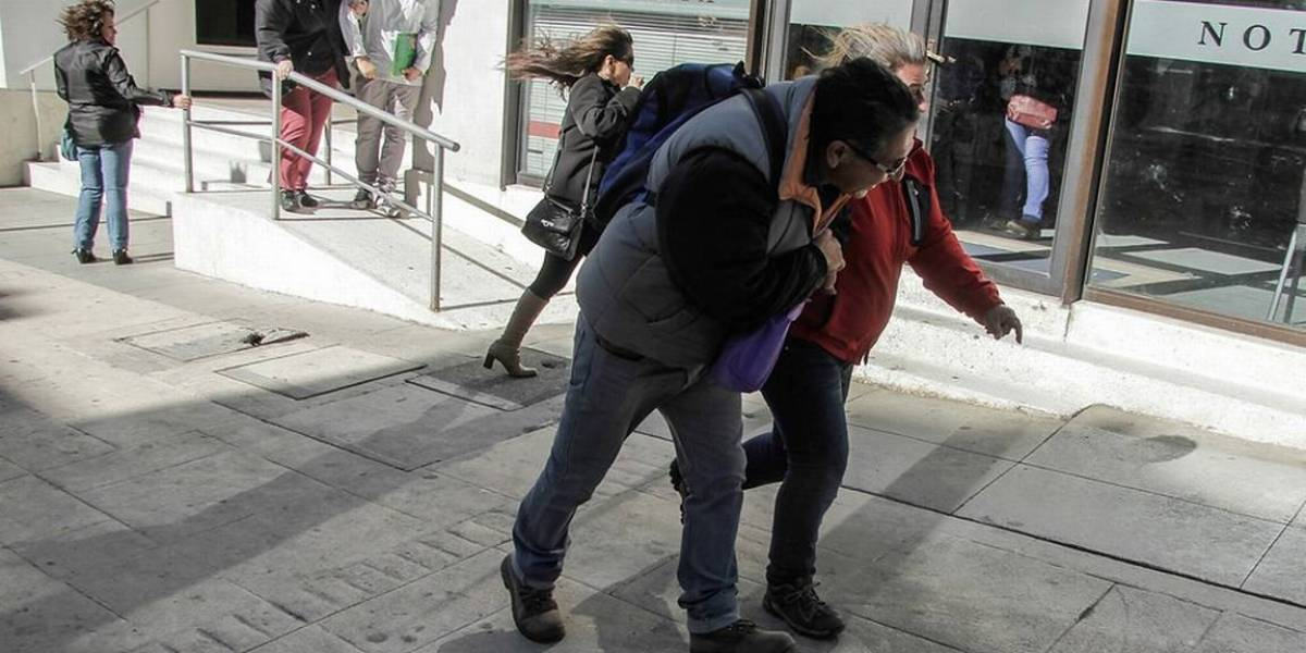 Onemi decreta alerta en la Región de Magallanes: vientos superarán los 100 km/hora