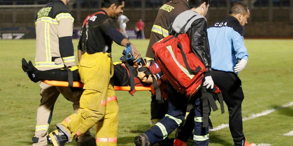 El agradecido mensaje del defensor de Antofagasta que sufrió múltiple fractura facial