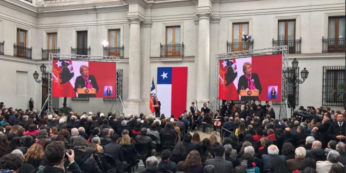 Polémica en Te Deum: ahora capellán evangélico hizo un gesto a La Moneda por dichos que molestaron a Bachelet