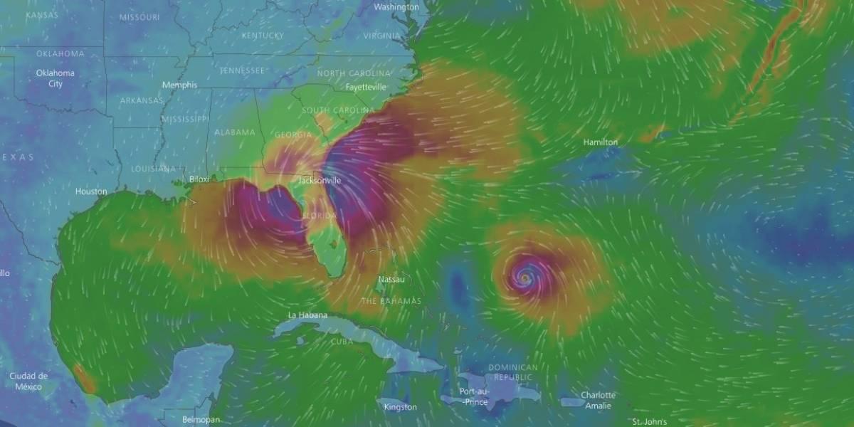 Irma se debilitó a tormenta tropical