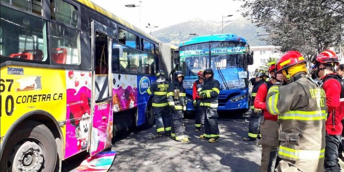 Un fallecido tras accidente en Seminario Mayor, en Quito