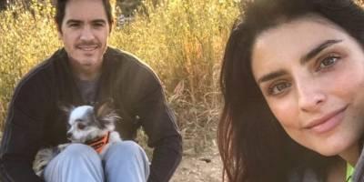Aislinn Derbez 'presume' primera foto de su embarazo
