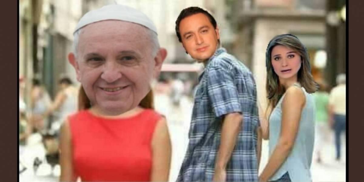 Los memes por el cubrimiento de Jorge Alfredo Vargas al papa