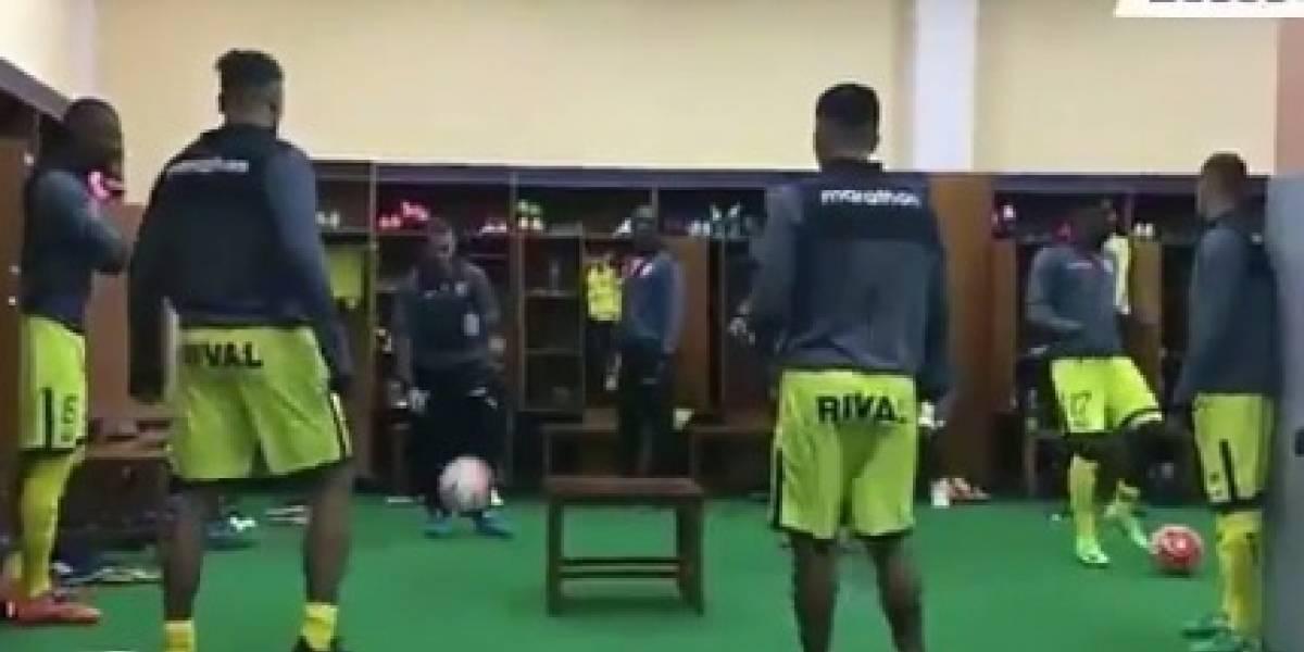 Barcelona SC quiso imitar a Brasil y terminó en 'ridículo'