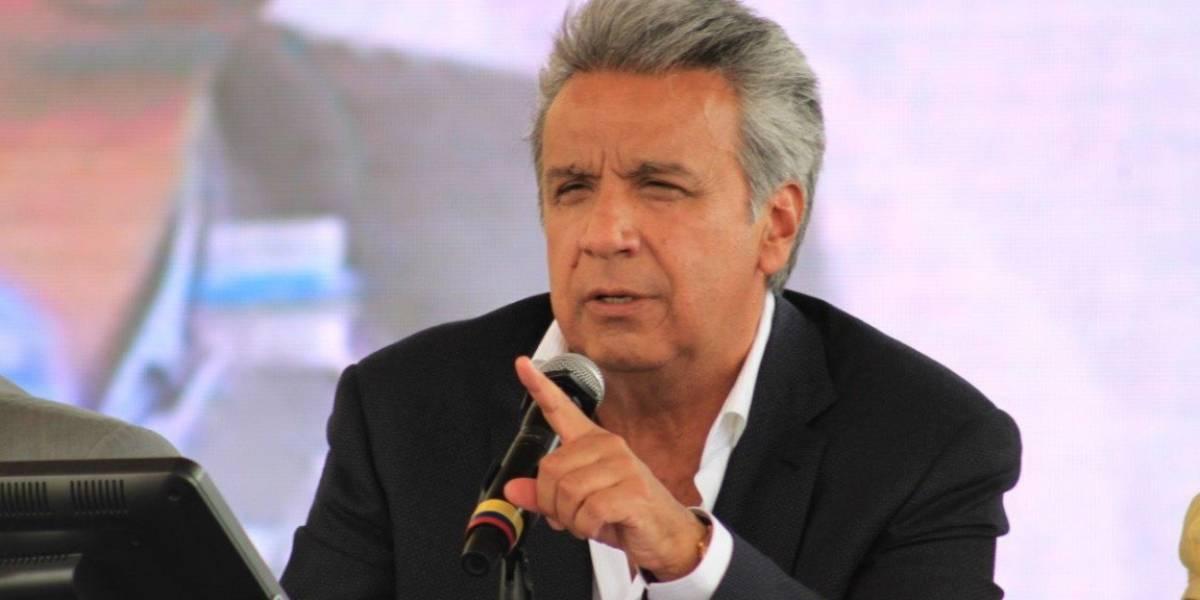 Lenín Moreno: Hemos sido víctimas de varias décadas de corrupción y latrocinio
