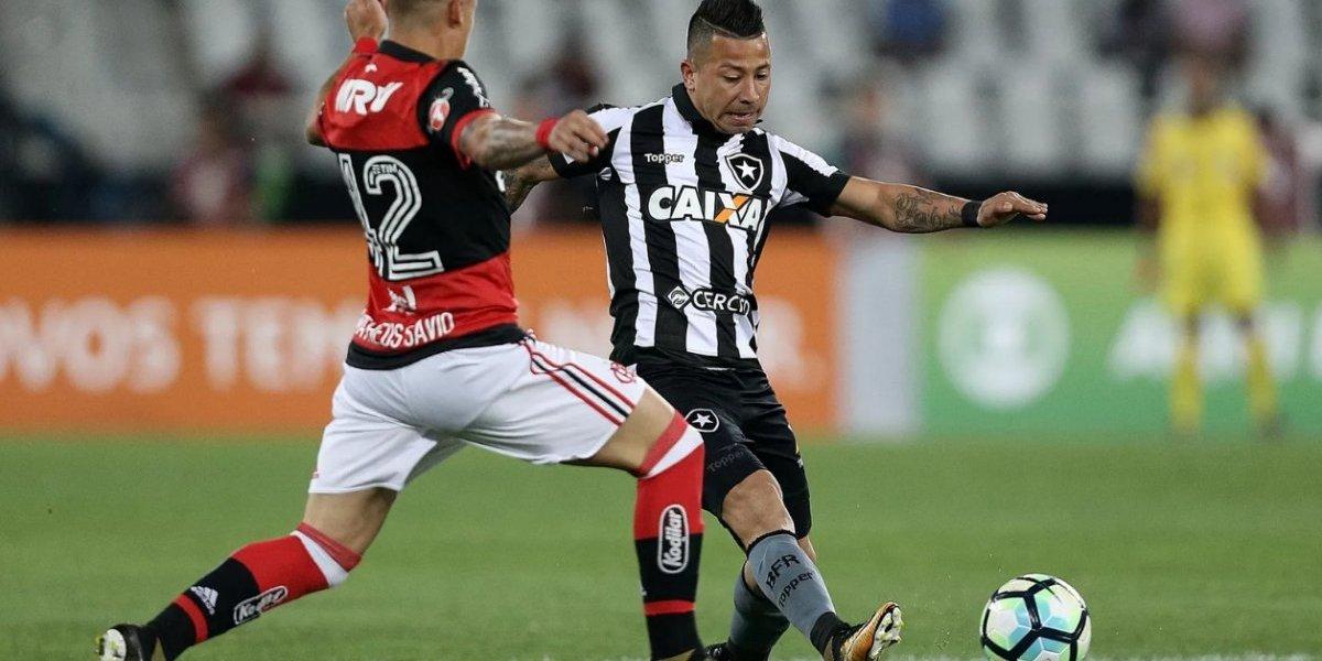 Leo Valencia suma bonos en Brasil y es destacado como figura ante Flamengo