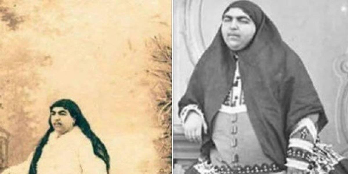 """La foto más compartida: La verdad detrás de la """"princesa iraní Qajair, el símbolo de belleza y perfección"""""""