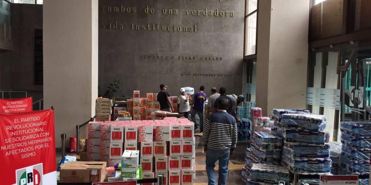 PRI envía ayuda humanitaria a comunidades afectadas de Oaxaca