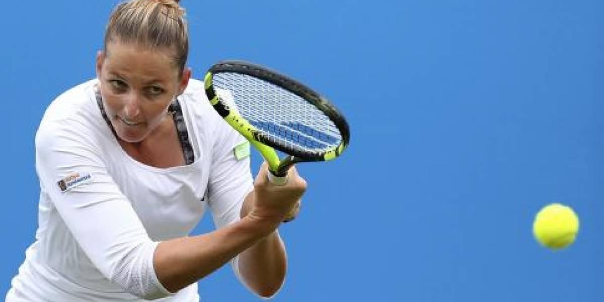 Pliskova adelanta a segunda ronda en Tokio