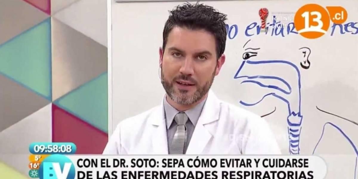 """Dr. Soto: Seguidoras juntan firmas para """"parar hostigamiento y persecución"""" contra el profesional"""