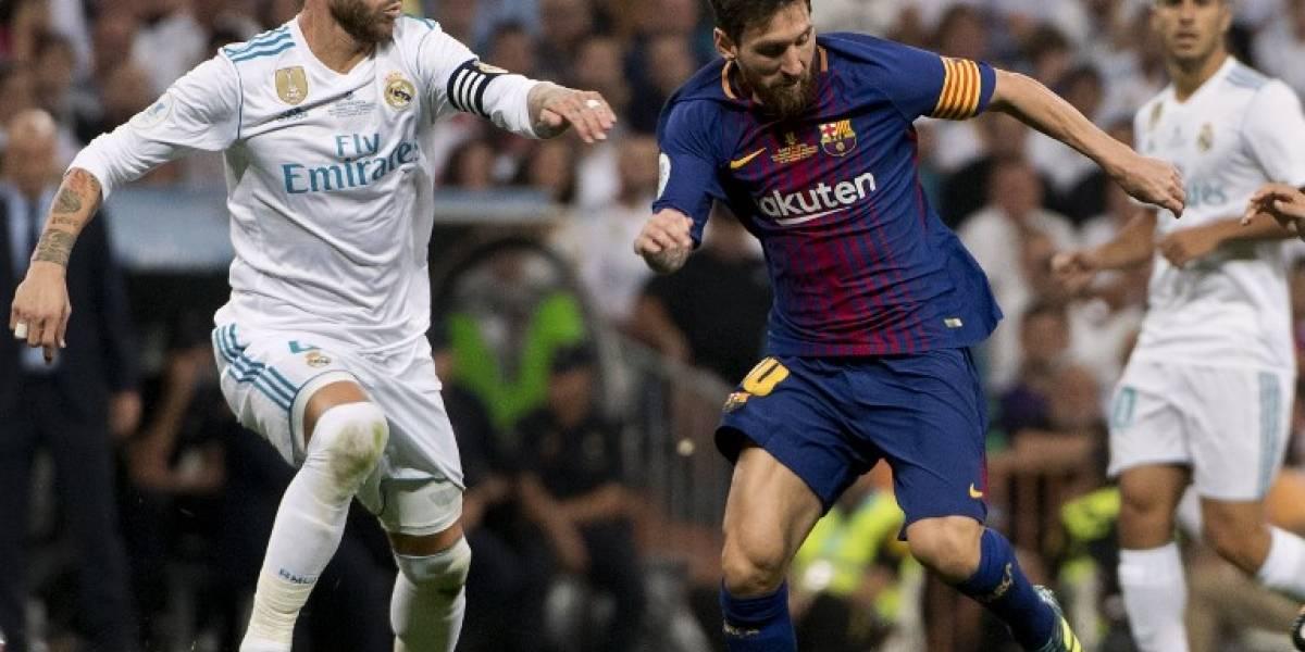 ¿Cuándo se jugará el primer Clásico de la Liga Española 2017-2018?