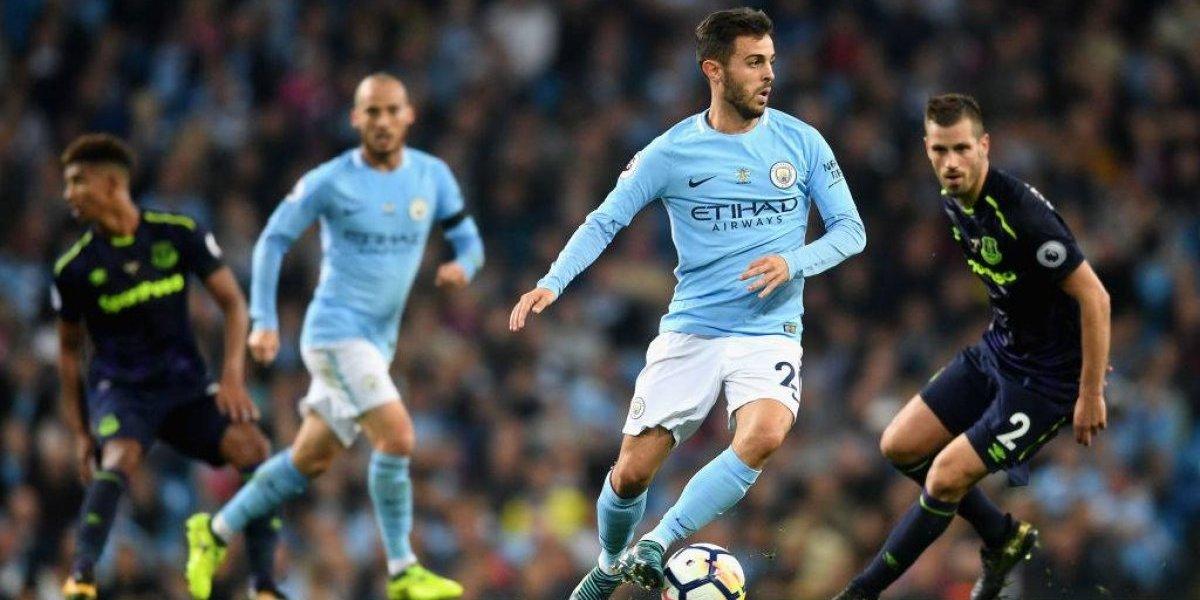 Agüero se sumó a la goleada del City en Champions