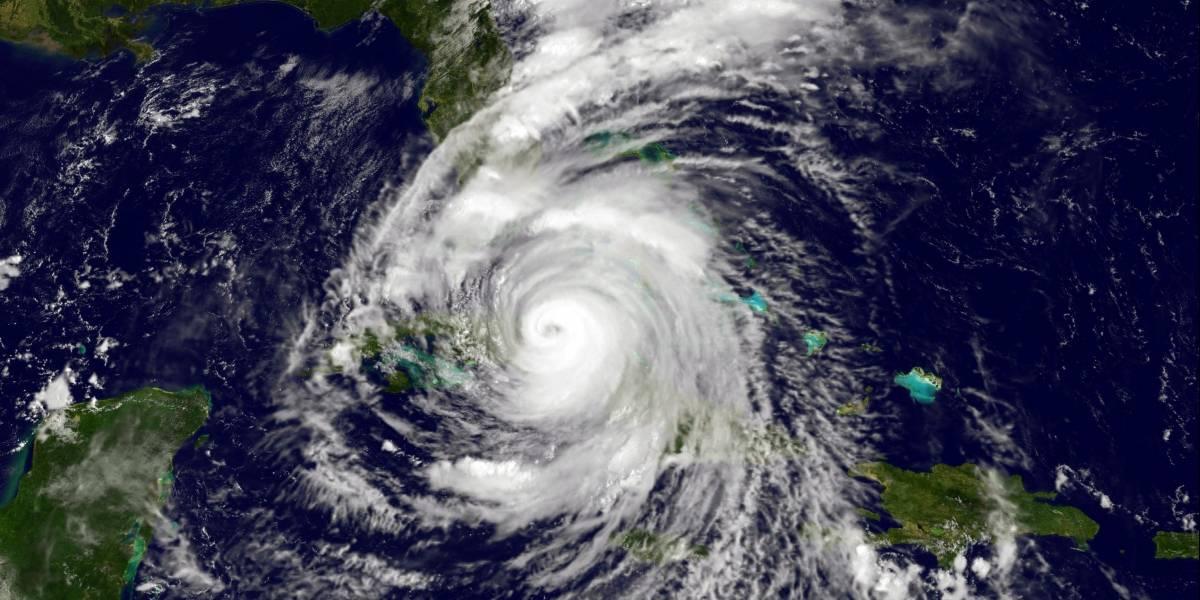 """Nasa capta espeluznante """"rostro"""" en pleno ojo de Irma"""